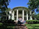 The group in front of the Goodman-LeGrande House in Tyler