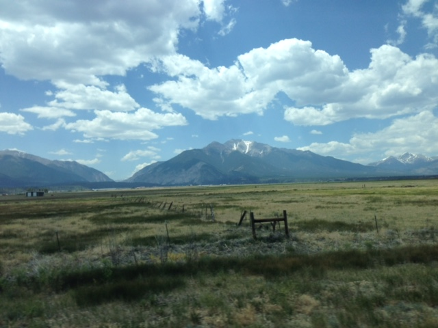 View along the road in Buena Vista