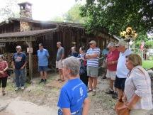 Touring the Sam Houston farm
