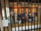 Some of the group on tour at the Texas Prison Museum