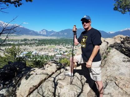Hiking near Buena Vista last year