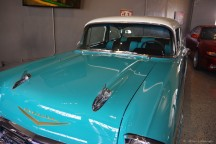 A most famous car -- '57 Chevy