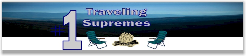 Traveling Supremes hats